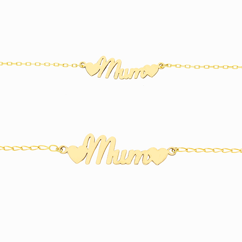 Mum Gold Bracelets Small Beautiful Moments Jewellery Gibraltar